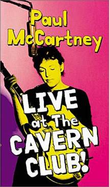 обложка DVD 'Live At The Cavern Club!'